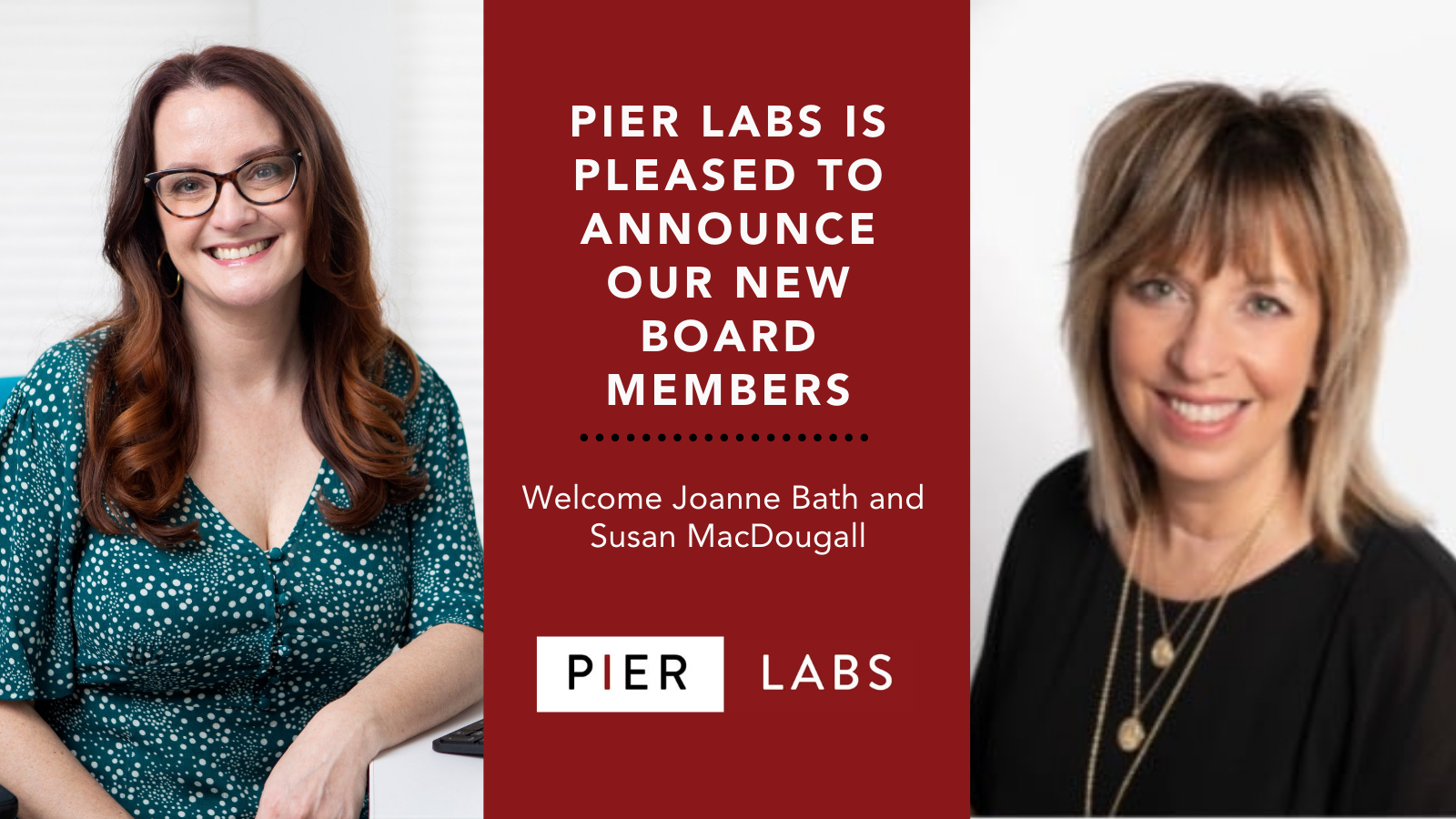 Pier Labs Announces the addition of two new Board of Directors